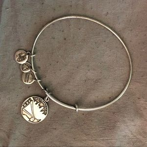 San Francisco Alex and Ani bracelet Silver